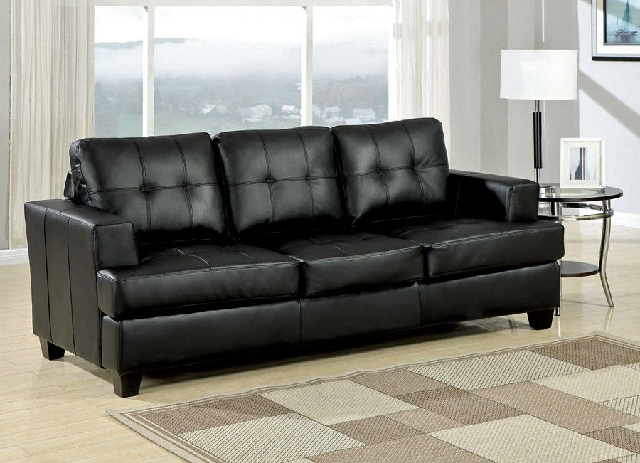 Black Leather Furniture | Best Sofas Ideas