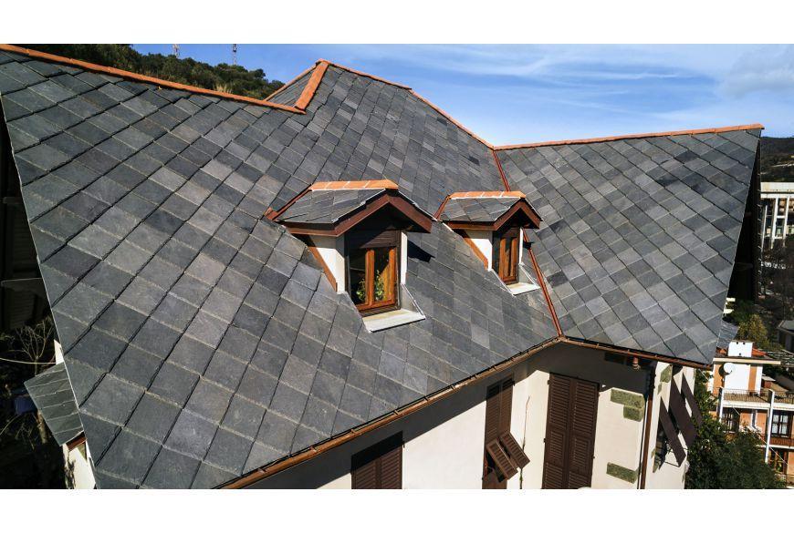 Toula 40x40 Cm B B Slate Roof Tiles Slate Roof Slate Roof Shingles
