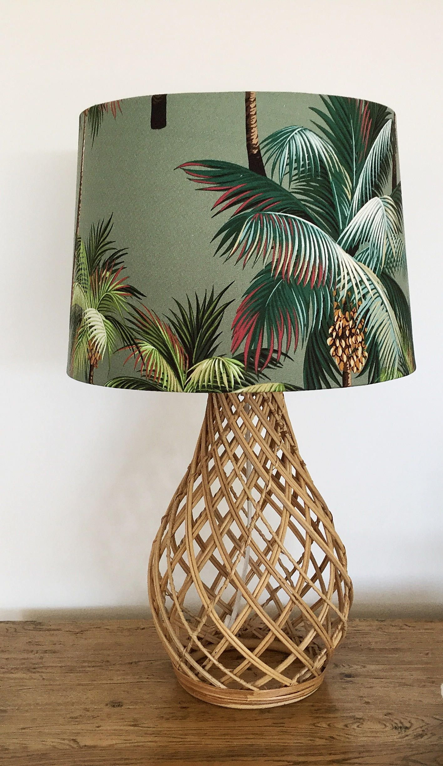 Lampshade Coastal Decor Hawaiian Lamp Shade Beach Decor