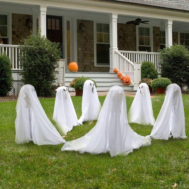 Halloween Deko Selber Machen Fur Drauben Eindrucksvolle Ideen Halloween Deko Ideen Halloween Deko Haus Halloween Deko