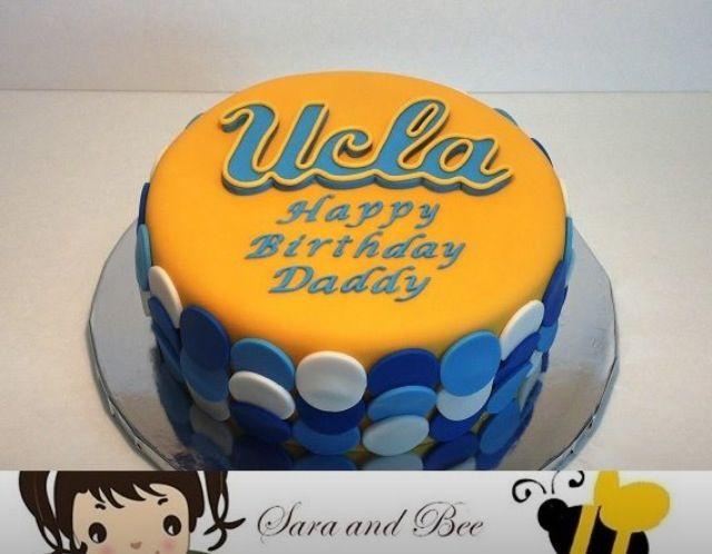 UCLA Cupcake Topper UCLA Cookie Cutter UCLA Fondant Cutter