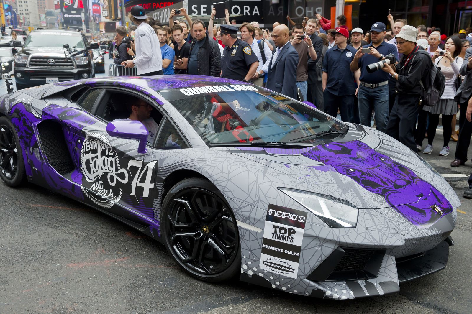 Gumball 3000 2012 - 74 Lamborghini Murcielago   gumball ...