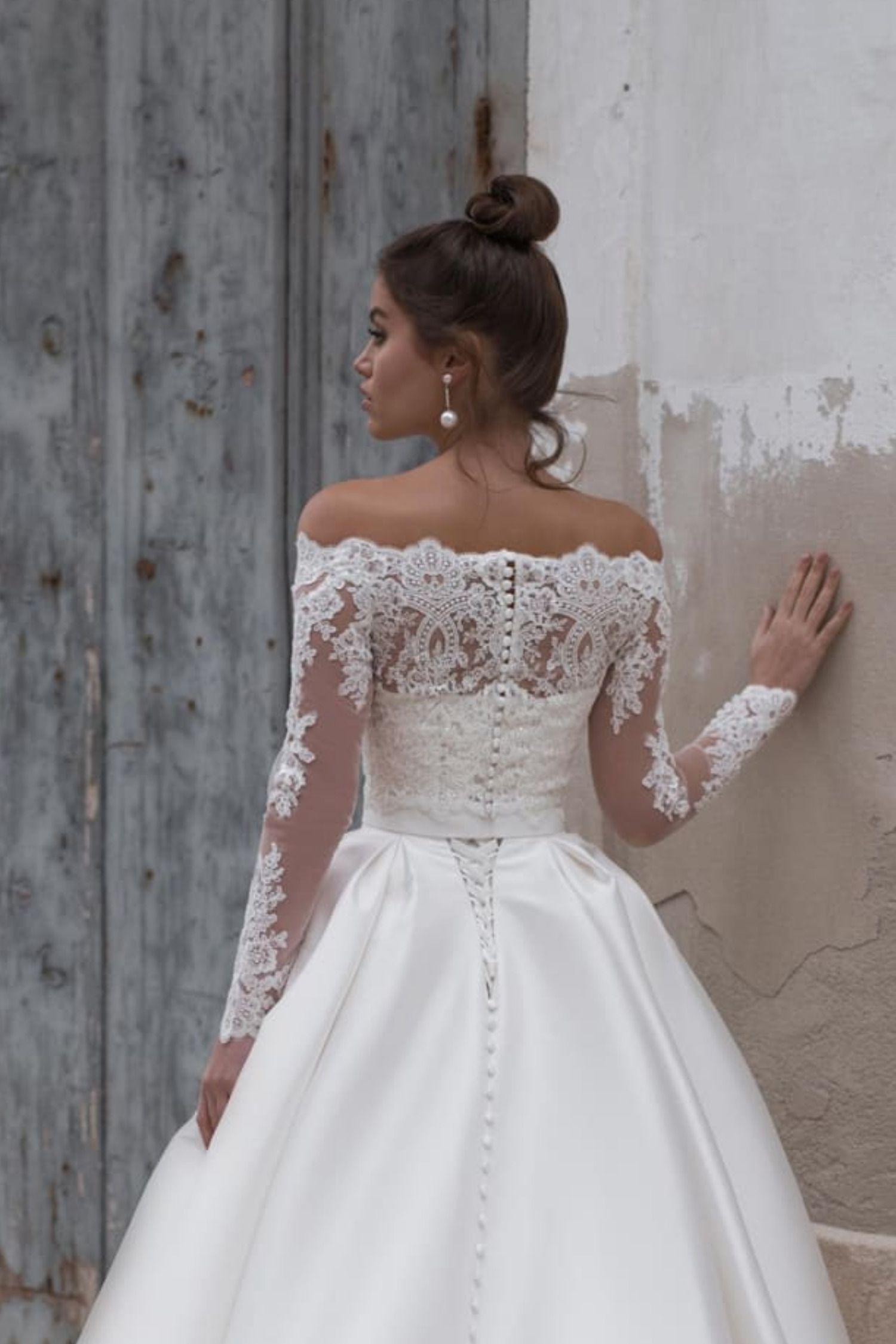 Strapless ALane Princess Wedding Dress / Bridal