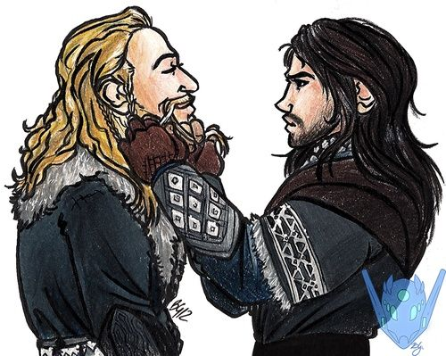 Just some friendly brotherly beard braiding