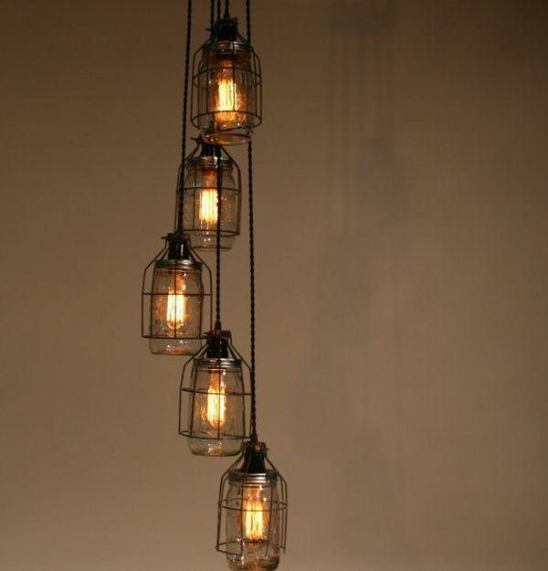 jar lighting fixtures. Turning Mason Jars Into Light Fixtures Jar Lighting Z