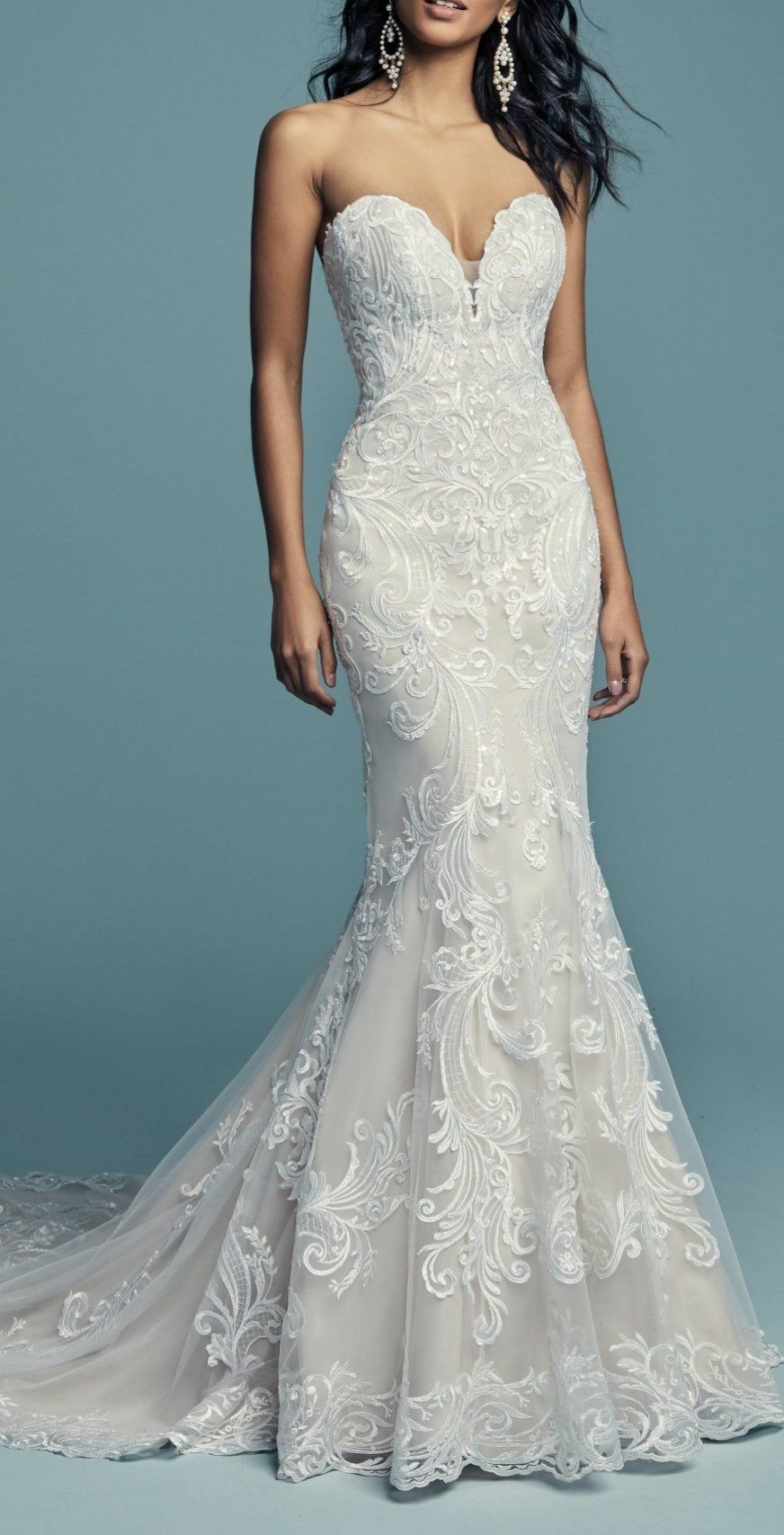 Maggie Sottero Wedding Dresses | Maggie sottero, Illusions and ...
