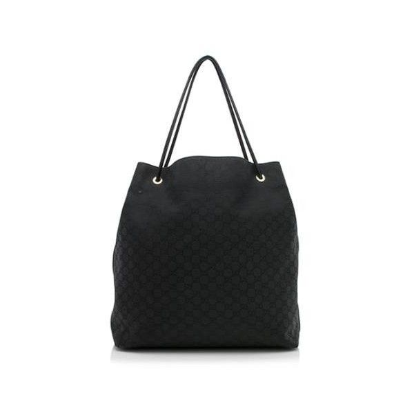 fc7132289a5 Pre-Owned Gucci GG Nylon Gifford Extra Large Tote ( 250) ❤ liked on  Polyvore featuring bags