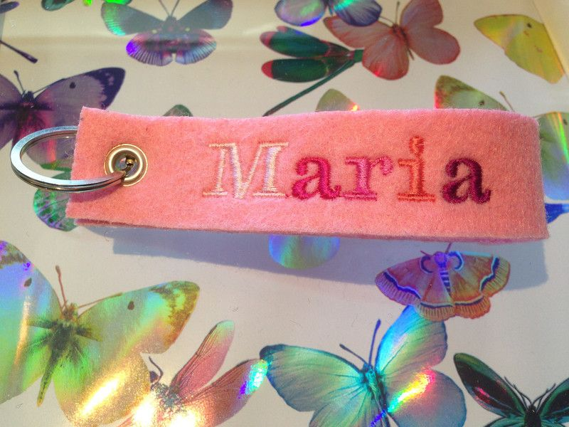 Anhänger - Maria Schlüsselanhänger - ein Designerstück von hant_werc bei DaWanda