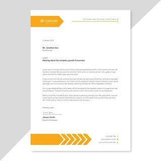 Tasmim Blog Word تصميم ورق رسمي جاهز Doc Company Letterhead Template Business Card Mock Up Letterhead Template