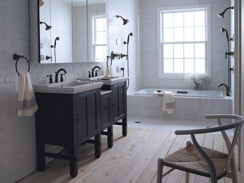 Bathroom ideas with oil rubbed bronze fixtures bathroom for Oil rubbed bronze bathroom ideas