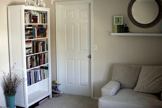 Ikea Hemnes Bookshelf Kids Library Pinterest