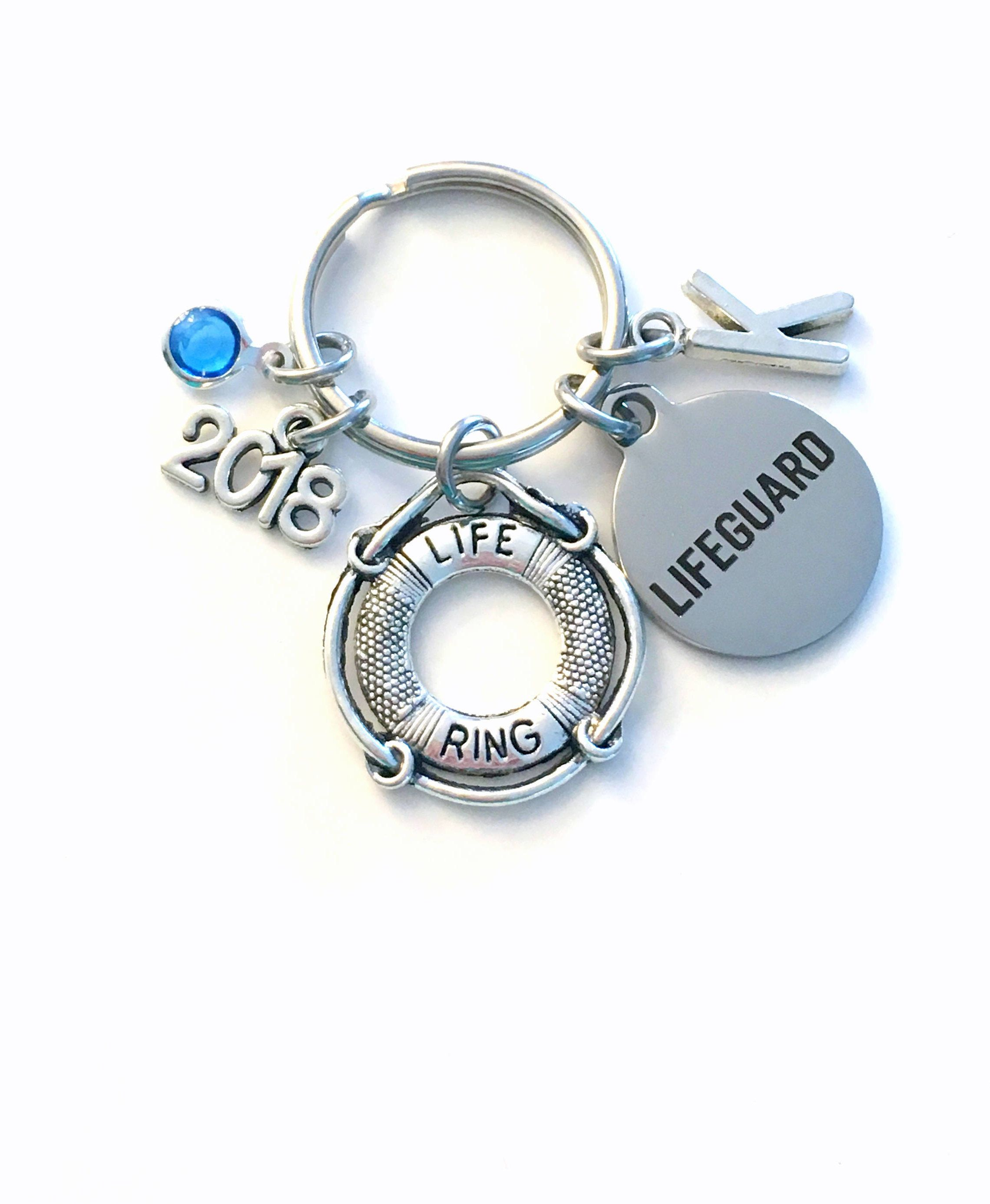 8fba356b872 Graduation Gift for Lifeguard Keychain