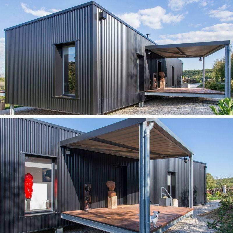 House DIAMANT NOIR SHIPPNIG CONTAINER HOME ContainerHomeDesigns