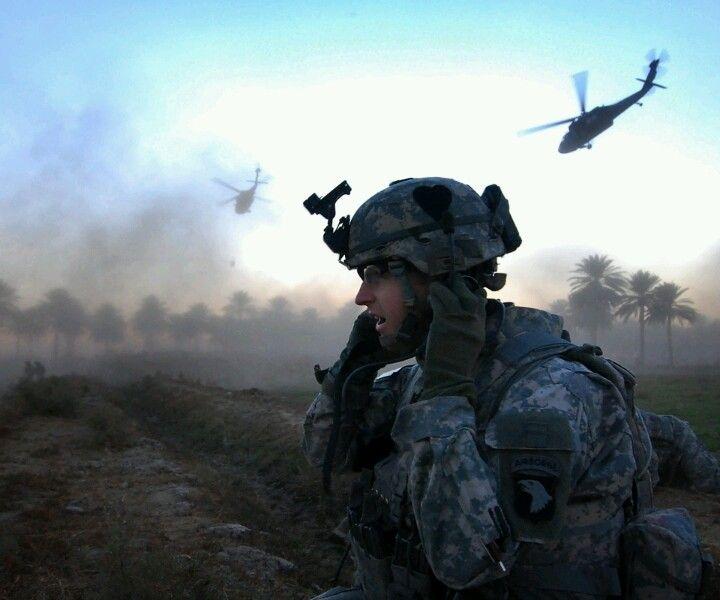 101st Airborne Forward Observer.