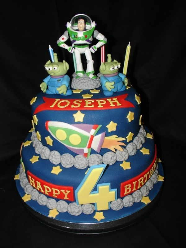 Buzz Lightyear Cake Cupcakes And Cakes Pinterest Buzz