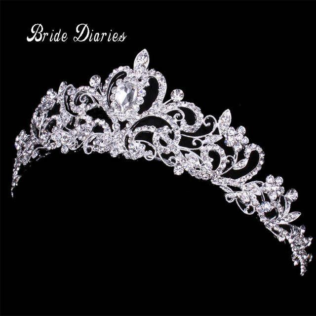 Online-Shop Diademe und Kronen Hochzeit Haar Zubehör Tiara Braut Crown Hochzeit Diademe für Bräute Haar Ornamente | Aliexpress Mobil #crowntiara