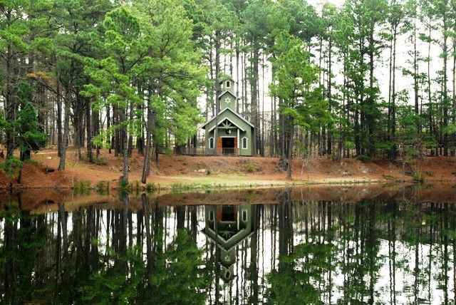 Chapel Near Water Lindale Texas Pond Texas