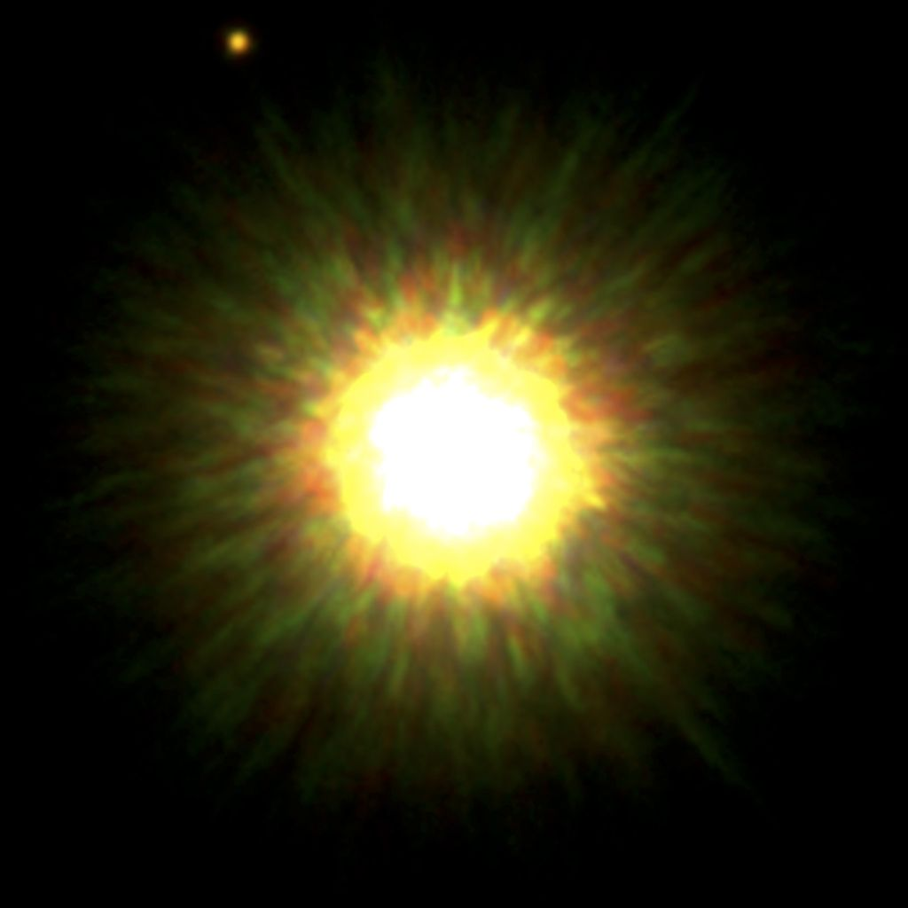 La prima immagine diretta di un esopianeta in orbita intorno a una stella simile al Sole
