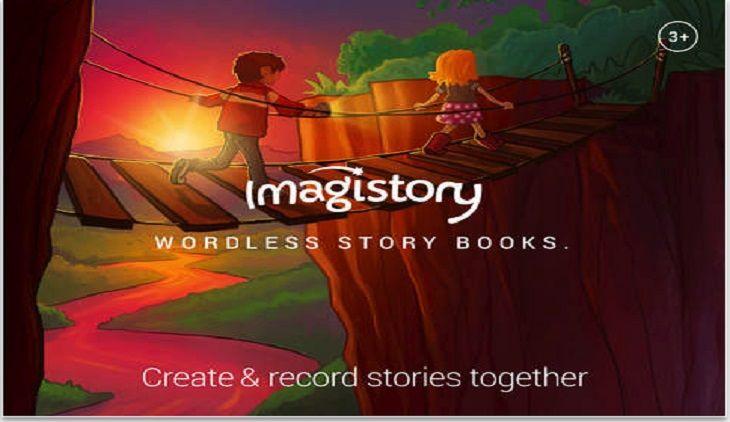 Una aplicación llamada #Imagistory nos ofrece a los usuarios de iOS una app para que los niños hagan la narración del libro que vean.