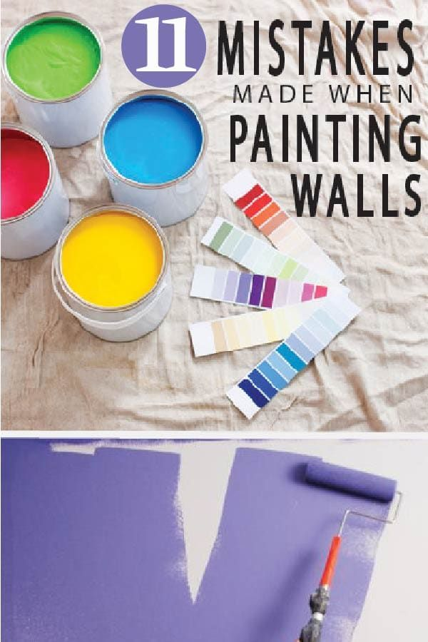 11 Common Mistakes Made when Painting Walls images