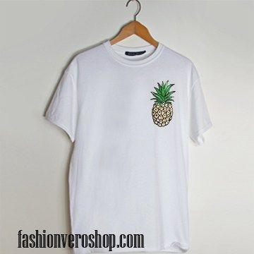 Pinapple t shirt men and t shirt women by fashionveroshop