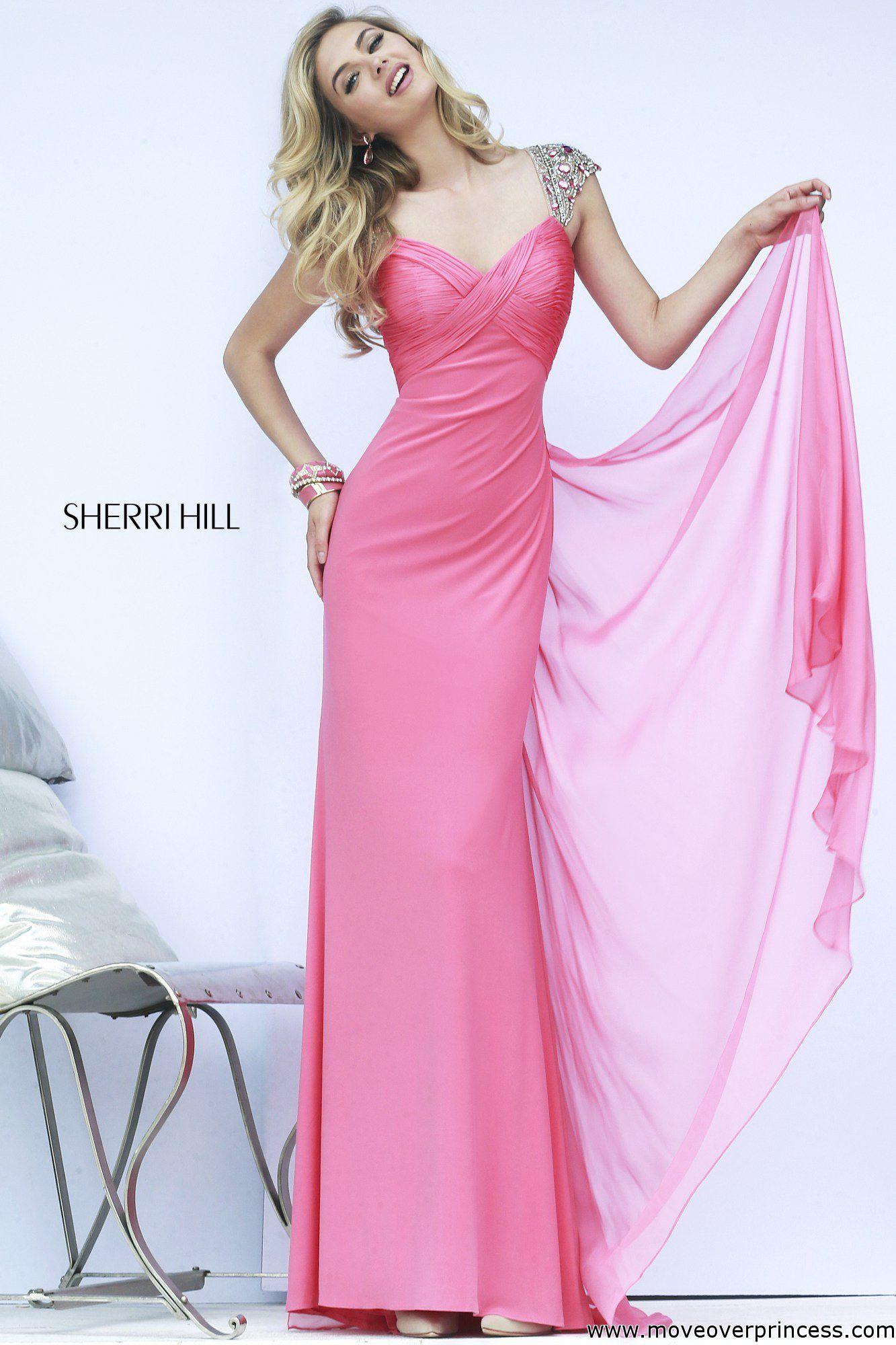 Sherri Hill 11172 Coral 6 | Baile de graduación, Vestido de moda y ...