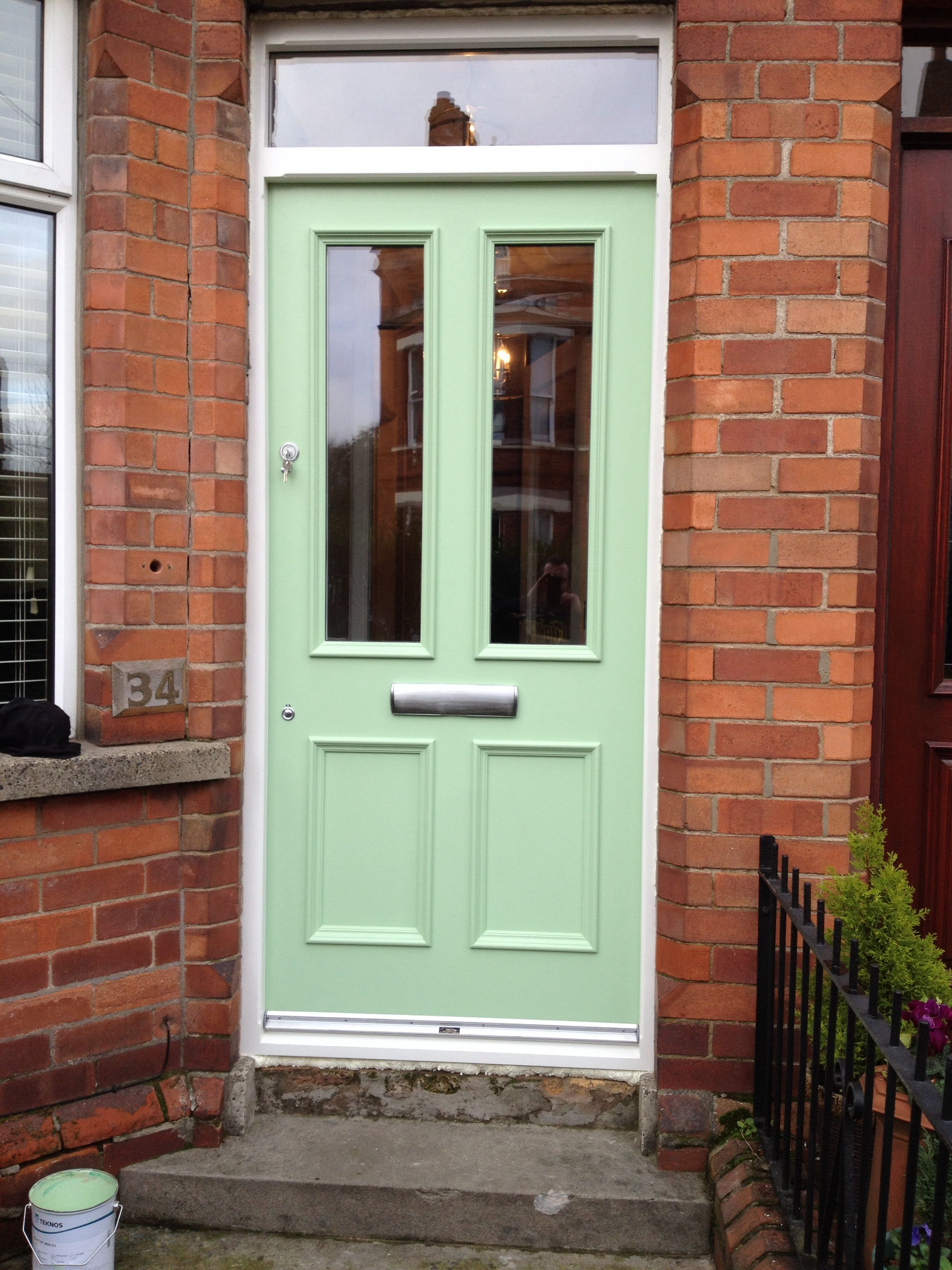 Bespoke four panel front door made to measure by belfast