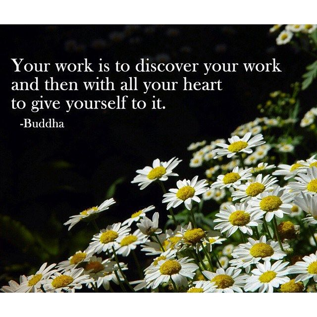 Discover your work. #quotes #sayings #inspirational #motivational #love
