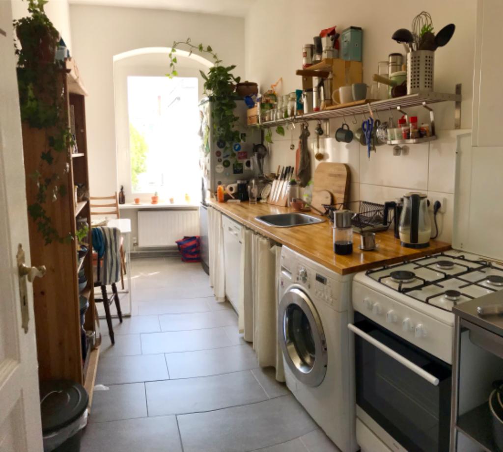 Kuche In Neukolln Altbau Kuche Wg Zimmer Einrichten Ideen Wohnung Kuche