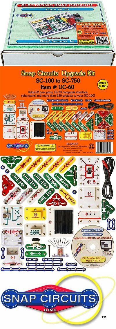 electronics and electricity 158698 elenco snap circuits uc 60 rh pinterest com