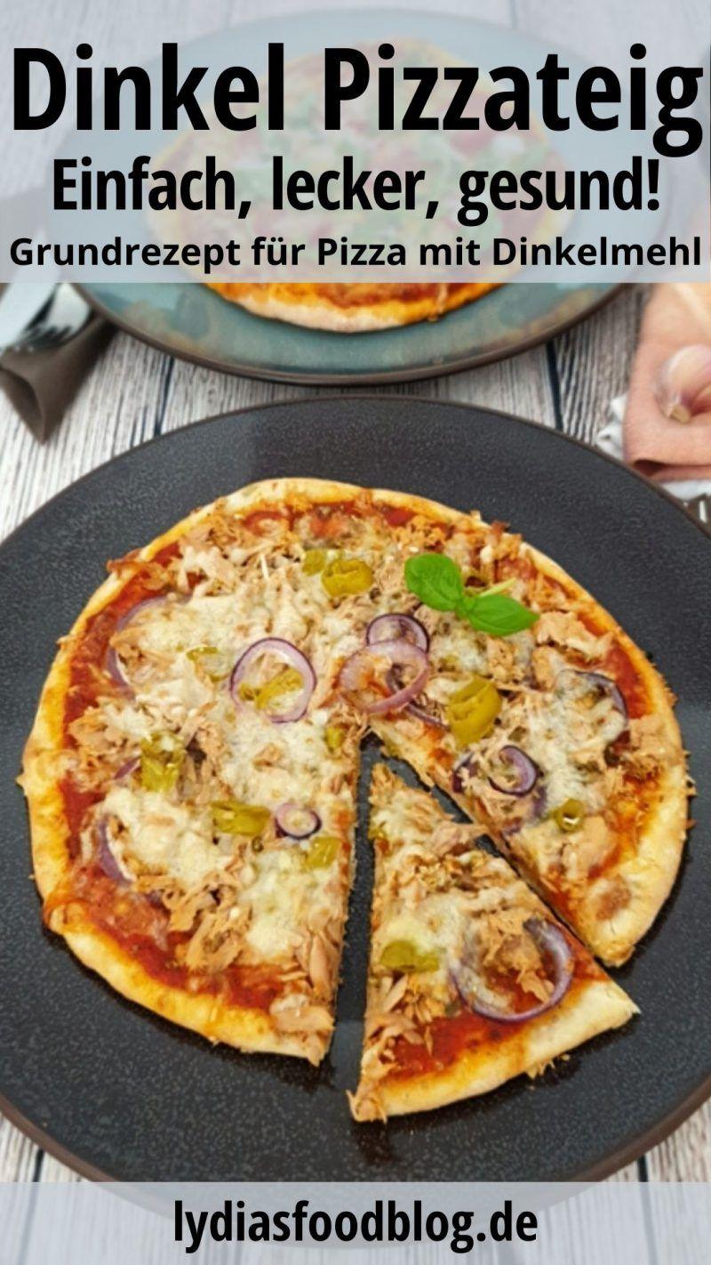 Photo of Pizzateig selber machen mit Dinkelmehl, Rezept