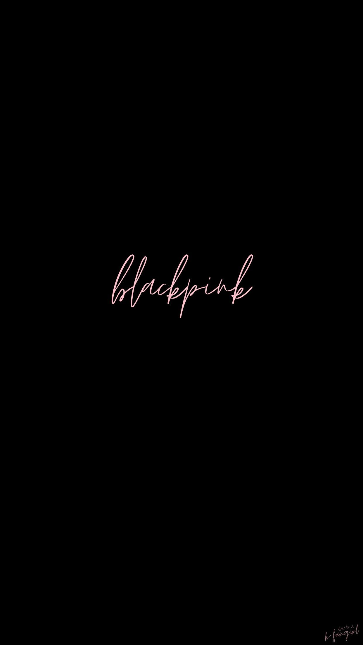Blackpink Lockscreen In 2020 Blackpink Minimalist Wallpaper Blackpink Photos