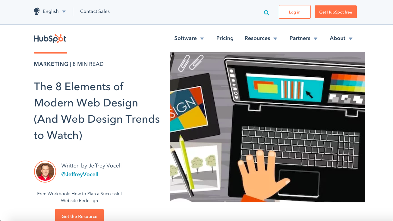 The 8 Elements Of Modern Web Design And Web Design Trends To Watch Modern Web Design Web Design Trends Web Design