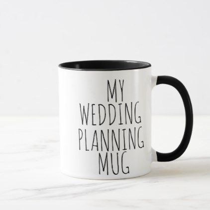 ab512977192c MY WEDDING PLANNING MUG BRIDE BESTSELLING - home gifts ideas decor special  unique custom individual customized