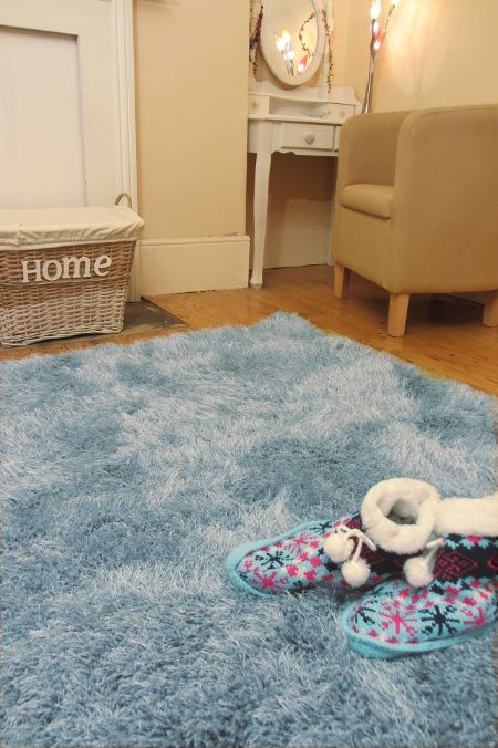 Cascade Duck Egg Blue Rug Cosy Rugs They Have