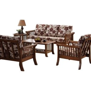 Sydney Wooden Sofa 3 1 1 3 Sofa Set Buy Sofa Wooden Sofa Set