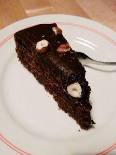 Haselnuss-Schokoladen-Kuchen