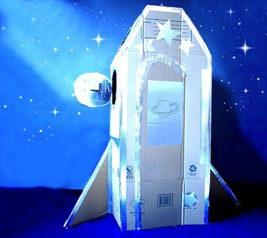 Blast Off! Inspiring Cardboard Spaceships You Can Make At