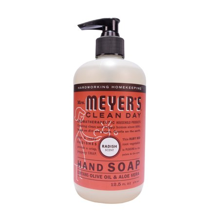3 Pack Mrs Meyer S Clean Day Liquid Hand Soap Radish Scent