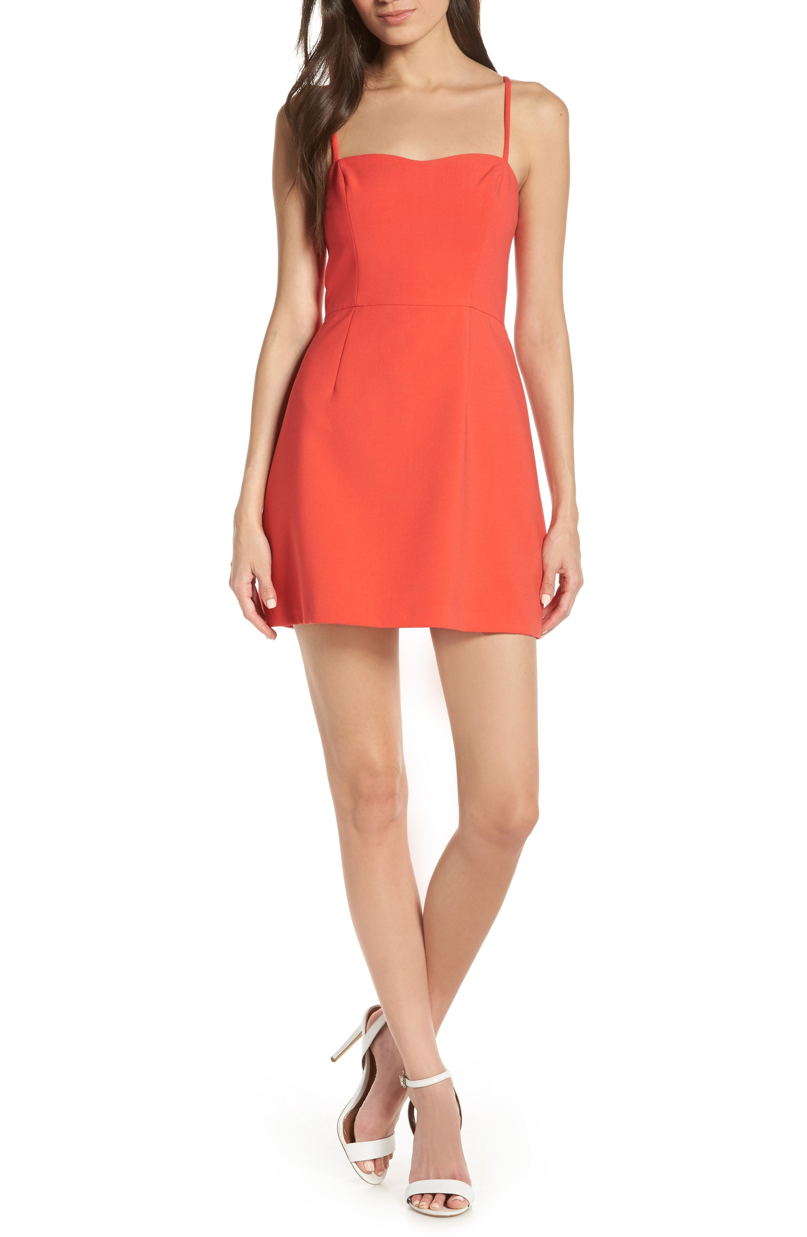 a20493dfac7 French Connection Whisper Light Sweetheart Minidress available at #Nordstrom