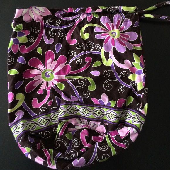 Vera Bradley Ditty Bag Purple Punch Vera Ditty bag. Good condition! Vera Bradley Bags