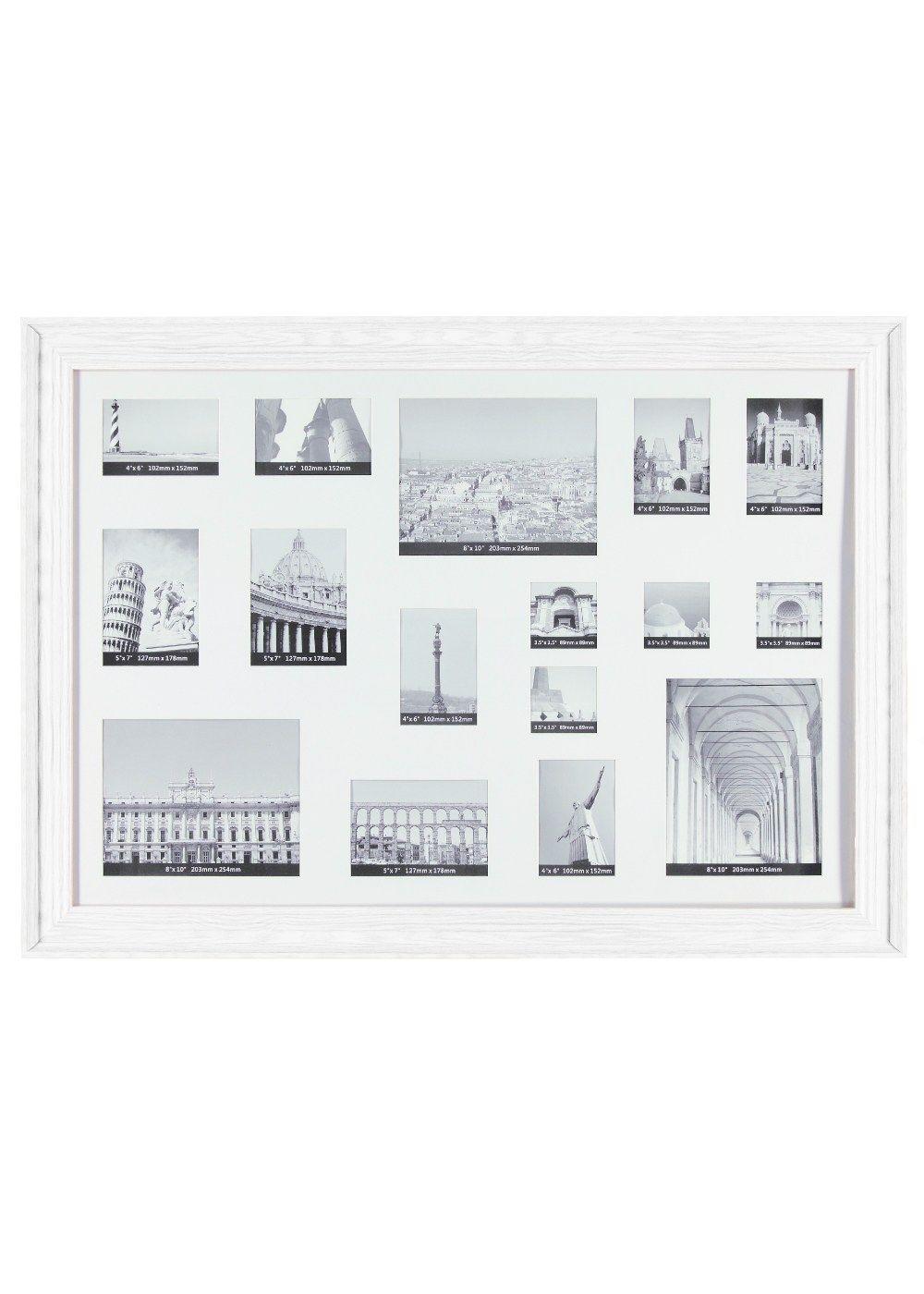 75156ac048f Large Collage Frame 80cm X 110cm Matalan Housey Stuff. Rotating Multi  Aperture 6x4 ...