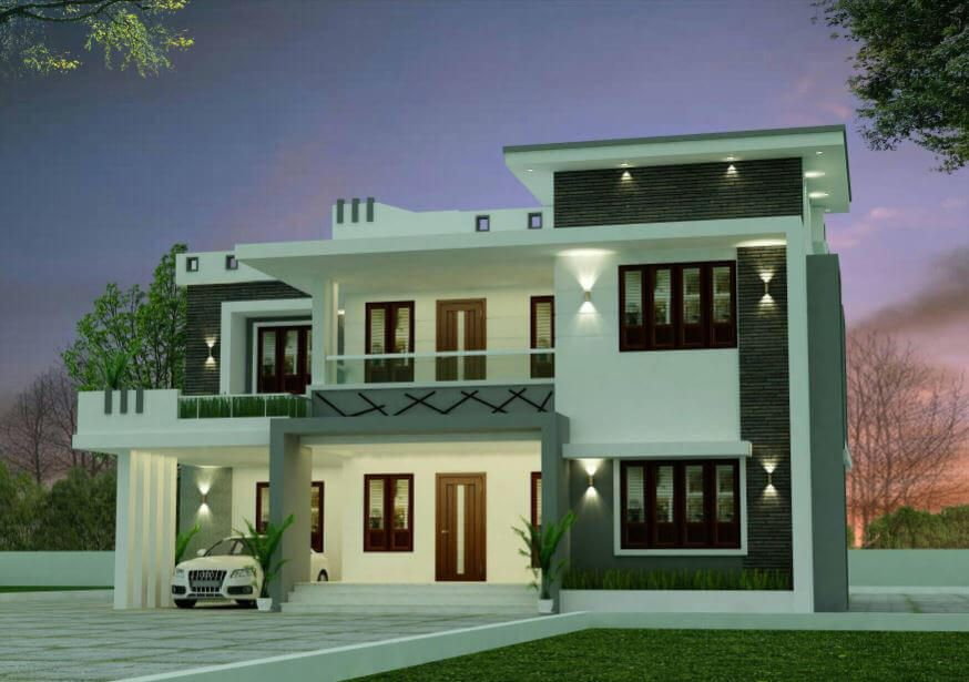 2366 Sq Ft Modern Two Floor House And Free Plan Engineering Discoveries