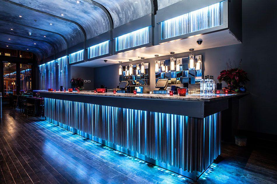 Lucid Bar Lucid Light Lounge In 2019 Nightclub Design