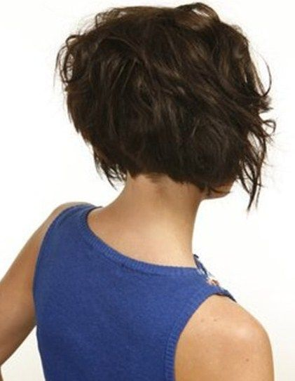Bob Frisuren Kurz Hinten Fryzury Pinterest Bobs Haircuts And