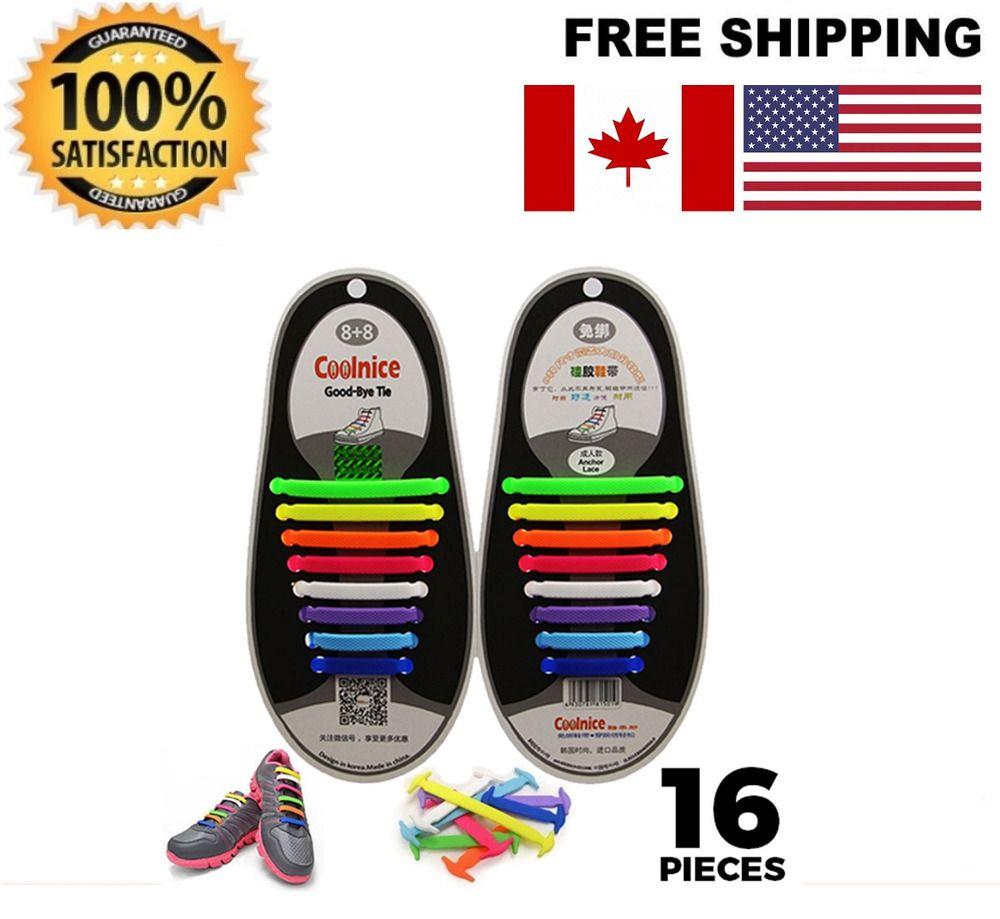 Unisex Flat Shoelaces Solid Color Print English Letter Multi Size Sneaker Sport