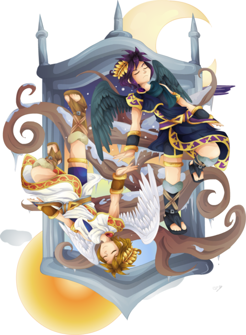 Pin De Jeweliana Gonzales Em Kid Icarus 3
