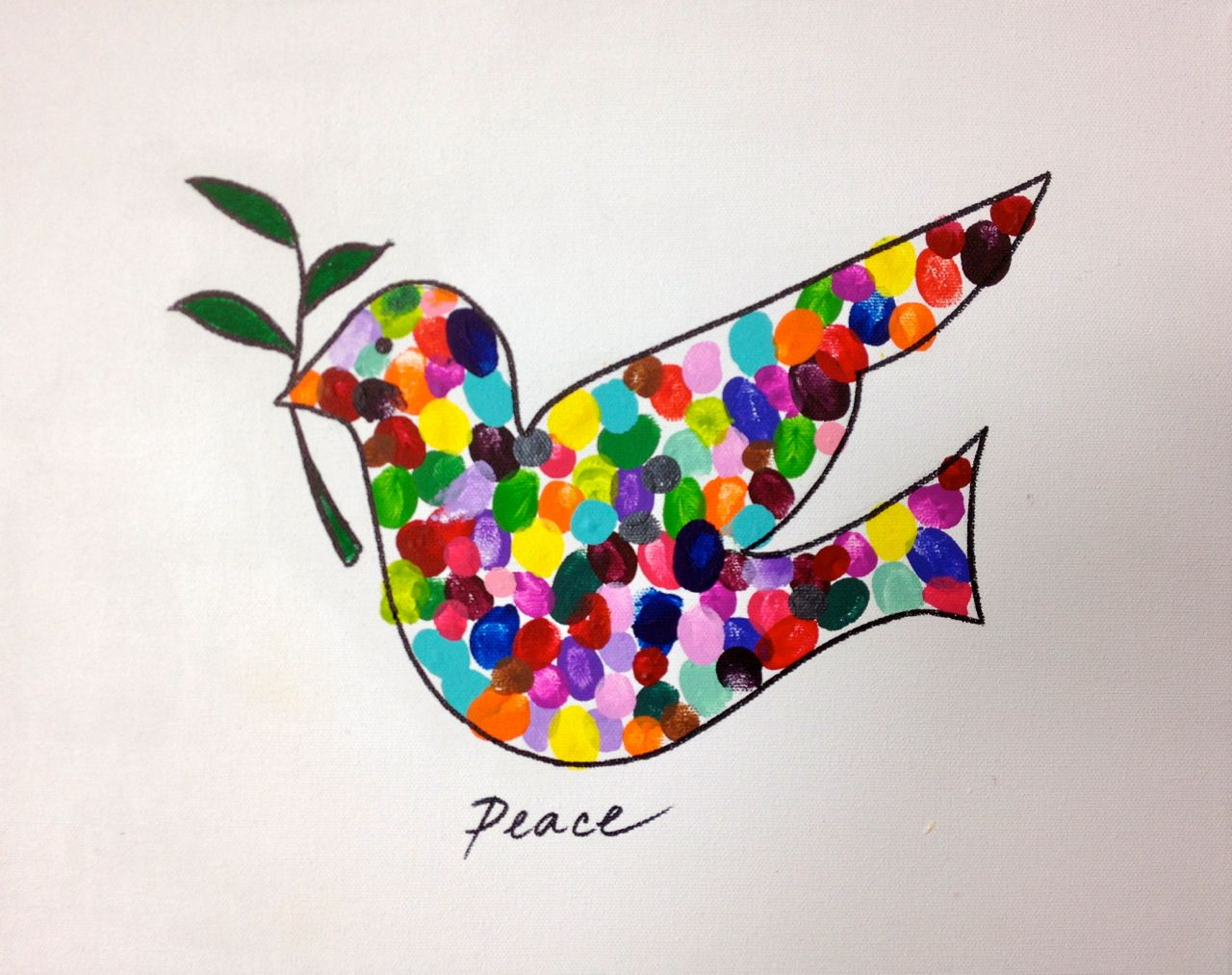 Best 25 Peace Dove Ideas On Pinterest Peace Crafts Dove Peace Sign With Color On Inside