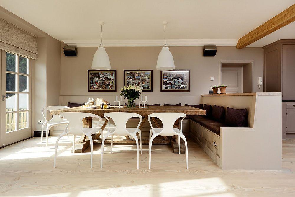 15 idées de banquette simple et raffinée pour une salle à manger