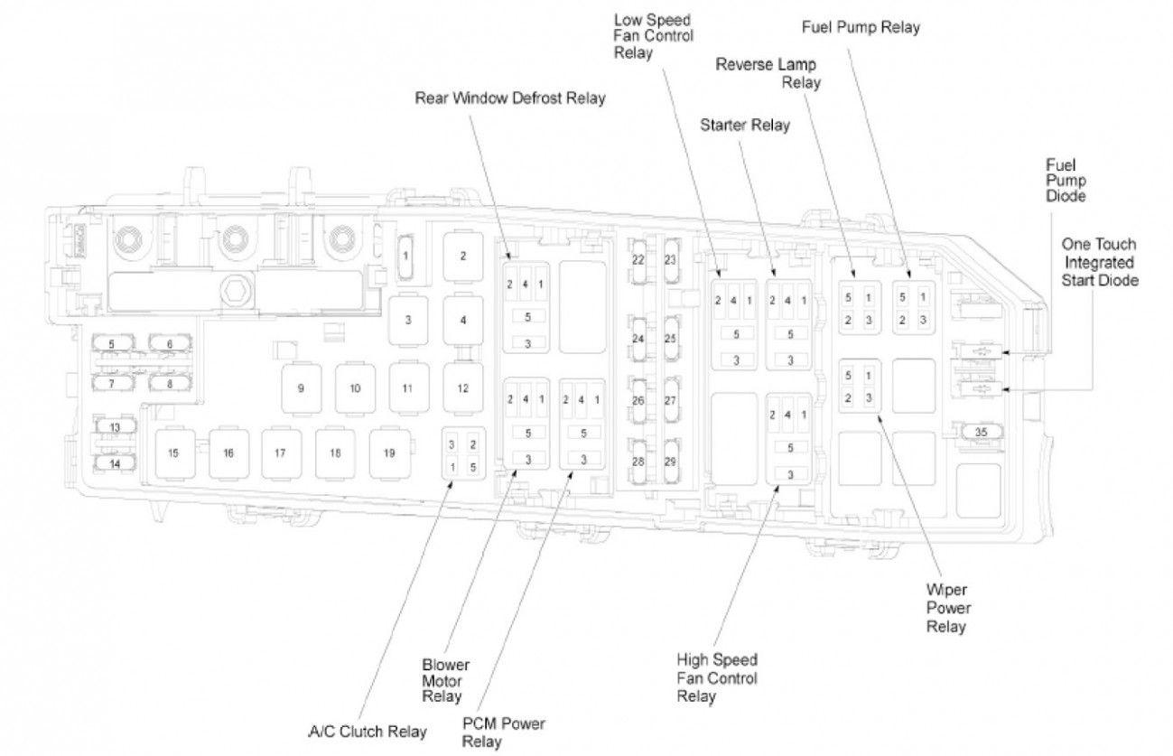 7 Ford Focus Engine Fuse Box Diagram Di 2020